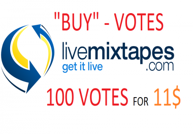 100 votes for livemixtapes