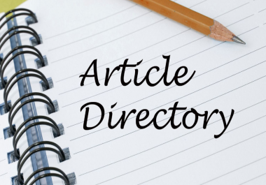 300 High PR Article Directory Backlinks