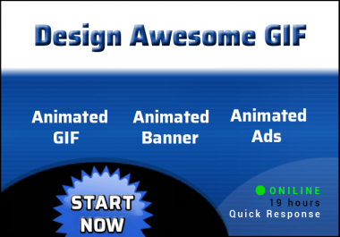 Design Awesome Gif &  Banner ads