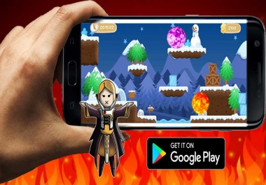 i can make you game adventure for android just