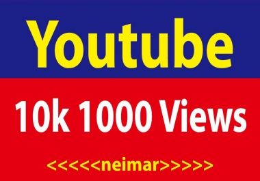 10,000 Yutube Views High Retention 1 Day  Delivery Guaranteed