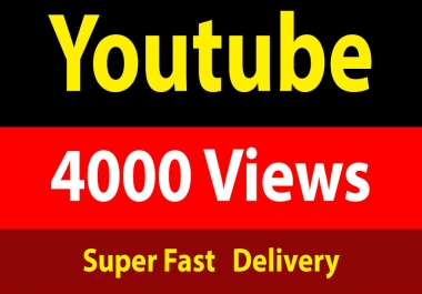 4000 Youtube Vie ws Instant Start