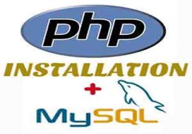install any php website script in your hosting