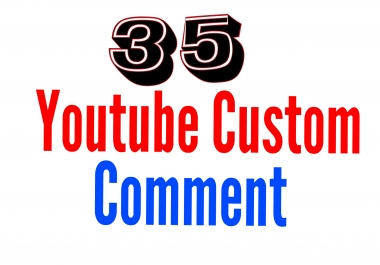 40 Youtube custom comment with 40 youtube like delivery within 1-6hour only for