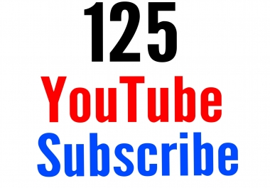125+ Active You tube Subs cribe fast delivery nondrop