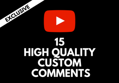Add 20 Costum Comments To Your YouTube Video