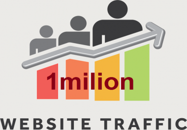 500k traffic visitors human and true and very fast for