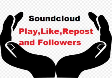 Buy this service,when release new track Soundcloud 50 Likes Or 50 Repost Or 50 Followers