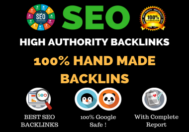 Build 100 Percent Manual High Authority Backlinks