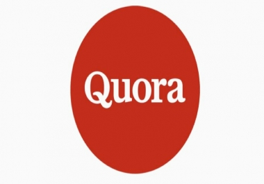High Quality 20 Quora Answer with keyword & URL