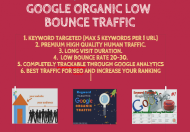 Provide Highest Quality Low Bounce Search Engine Traffic