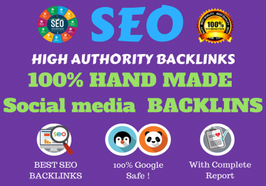 create high authority social media links with in one day
