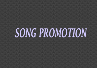 Song Promo Upload to 4 channels