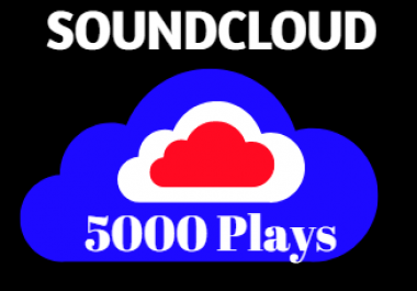 Needed 5000 Soundcloud Plays after Music release For Real Looking Promotion