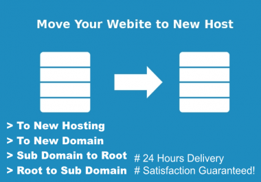 Move or Transfer Your WordPress Website to New Host