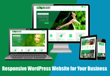 SetUp Professional WordPress Website For Your Business