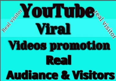 Get Instant Manually Do  Y Videos V  Promotion