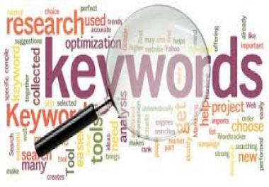 Provide you 180 Seo High quality keyword research for your website