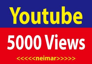 5000 High Retention Youtube  Vi-ews  Non Drop Lifetime Guaranteed