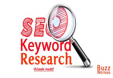 Do 30 SEO keyword research