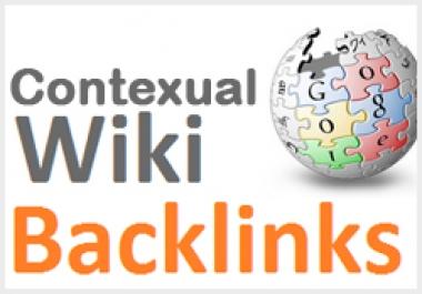 1000 Wiki backlinks Contextual backlinksfast  for