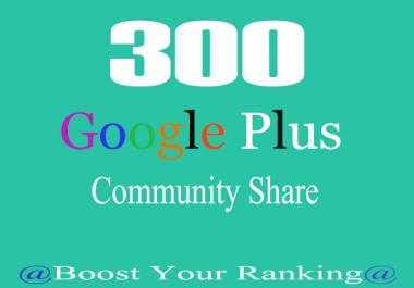 post your link to 300 google plus community