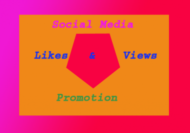 instant Start 20002+to 25001 Non Drop social media views  1-2 hours delivery