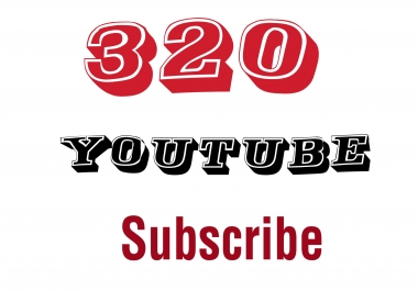 Active 325 Youtube subscribe delivery within 1-6hour only