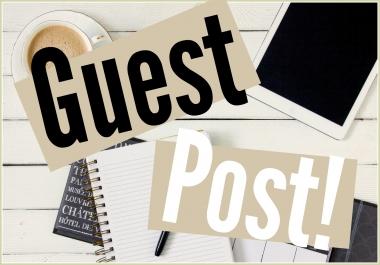 Publish 2 Guest Posts on BUSINESS MARKETING Niche DA48-PA54 & DA65-PA71 Link Building SEO