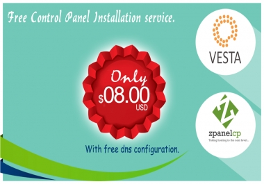 setup and configure vesta cp, zpanel on your server or vps
