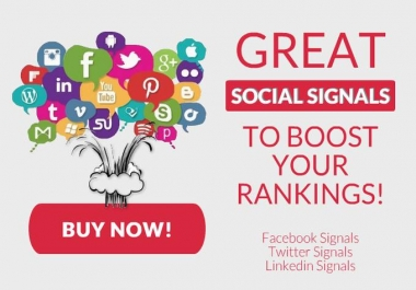 provide 2500+ Powerful Social Signal Boost your Ranking and traffic