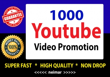 YouTube Video Marketing & Promotion Fast Delivery