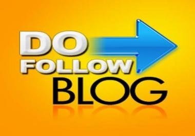 Quality Do-Follow 500 Blog comment back-links