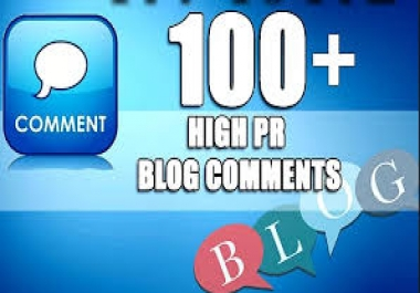 Provide your 100  High Quality Blog Comments fast