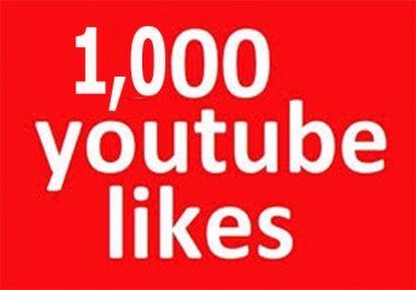 1,000 Real Youtube Video Likes