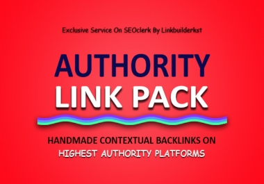 Authority Link Pack - HandMade Contextual Links on High Authority Platforms