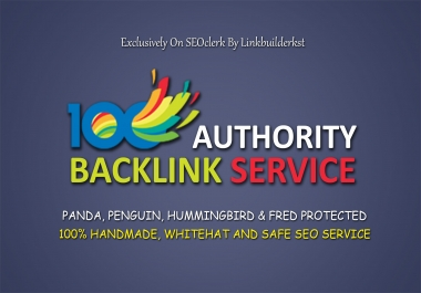 Domain Authority Stacking 100 Pr9-5 Up Backlinks From Highest Authority Domains