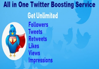 All in One Twitter Boosting Service: Boost Your Twitter Success!
