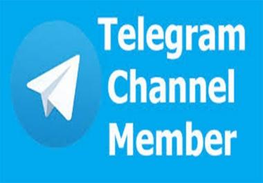 500+ Telegram HD Channel Members All Are Real Members