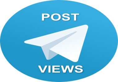 500 views telegrm to last 10-20 posts each!
