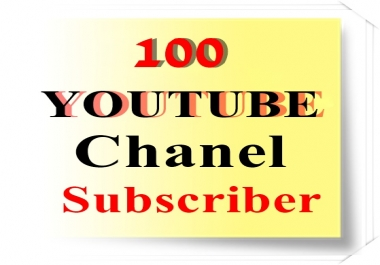 100+ YouTube Channel Subscribers