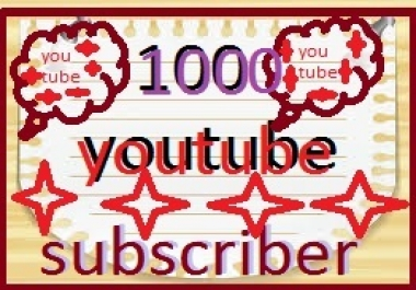 Safe 1000 You Tube Subscribers Or 3200 You Tube Likes Or 270 Custom Comments