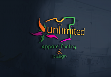 design a professional business with logo unlimited revisions