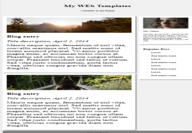 Make a responsive and creative Website