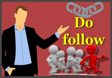 High Authority 500+ Dofollow backlinks to get rank on google