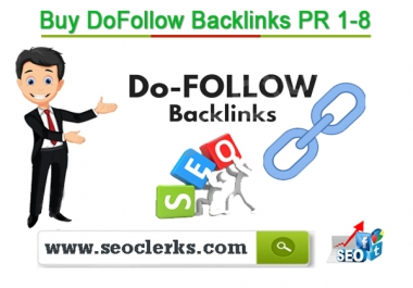 Serve 2500 do follow PR-3 to 9 backlinks to get rank on google