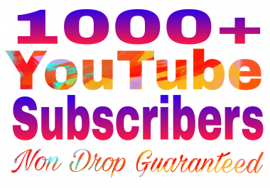Instant start 1000+ chann+el subs non drop refill guaranteed in 24-97 hours delivery
