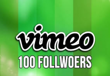 1000 vimeo followers or likes
