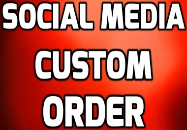 Custom Order Service For My Clients