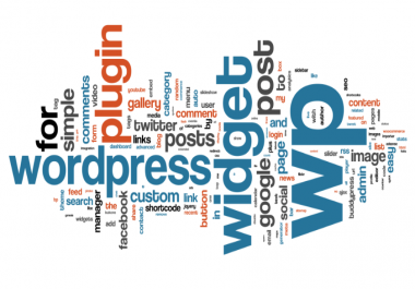 Create an integrated website using Wordpress
